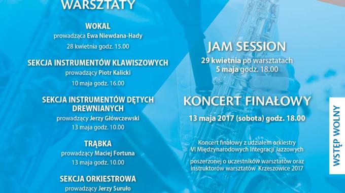 VI Międzynarodowe Integracje Jazzowe Krzeszowice 2017